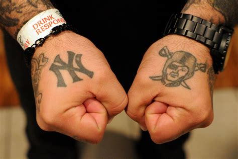 nyc tattoo hole a journey into new york city s black hole of raiders fans