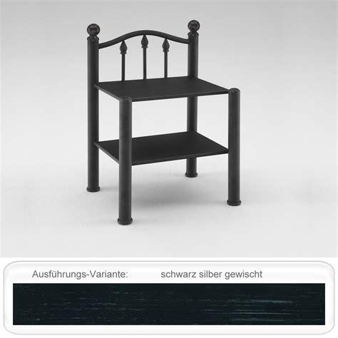 Nachttisch Silber Metall by Nachttisch Madlen 46x68x37 Cm Metall Farbe Nach Wahl