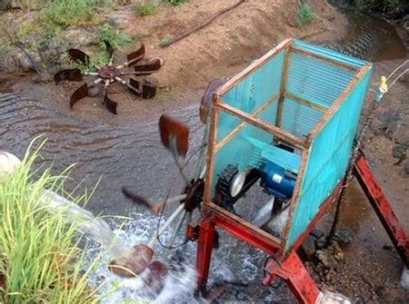 how to build a hydro generator