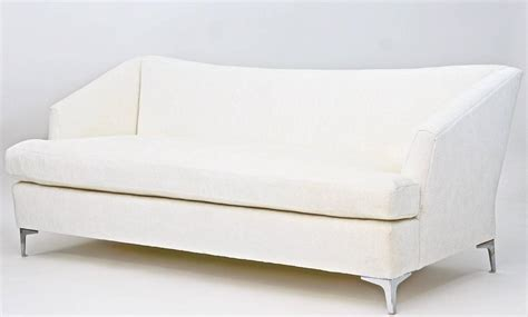 Single Cushion Sofa by Single Cushion Sofa For Sale At 1stdibs