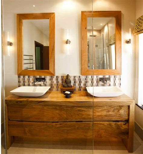 wooden vanity units for bathroom search