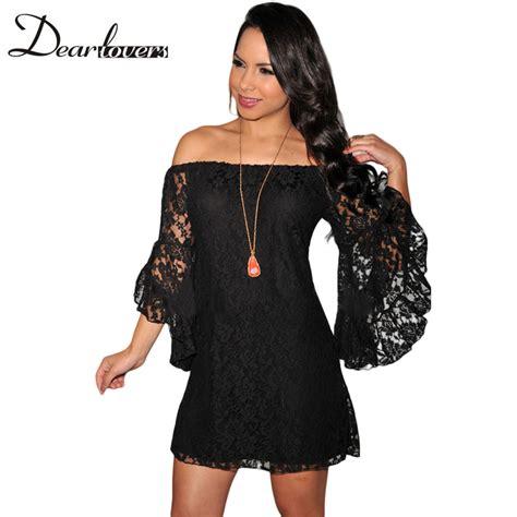 Minidress Renda aliexpress buy plus size autumn dress vestido de renda curto black lace