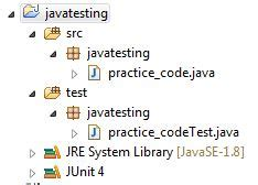 abcd pattern in java junit for beginners by a beginner qxf2 blog