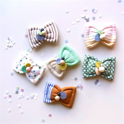Handmade Hairclips - ebabee likes the sweetest handmade hair accessories and