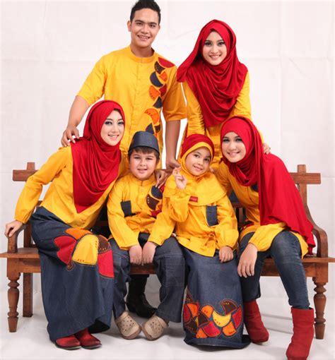 Sarimbit Nabila 2 Murah Batik Sarimbit Keluarga Muslim 15 contoh model baju muslim sarimbit keluarga terbaru