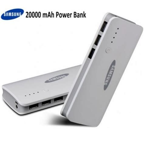 Power Bank Kekt 20000mah samsung power bank 20000mah with 3 usb port backup