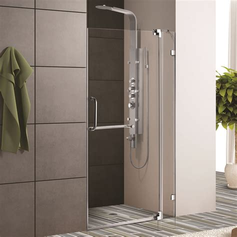Clear Glass Shower Doors Frameless Glass Vigo Frameless Shower Door With 3 8 Quot Clear Glass Cheap Price