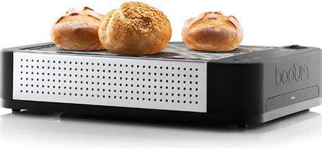 tostapane bodum bodum bistro flatbed toaster gearculture