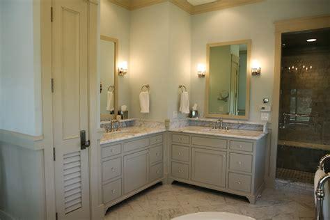 Bathroom Paint Ideas Benjamin Moore by Adjacent Vanities Cottage Bathroom Urban Grace Interiors