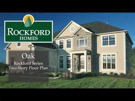 rockford homes the oak model