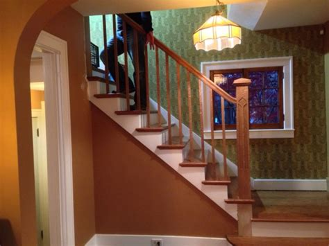 arts  crafts staircase woodworking talk woodworkers