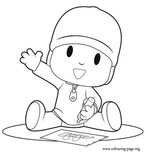 pocoyo coloring pages games pocoyo pocoyo drawing coloring page