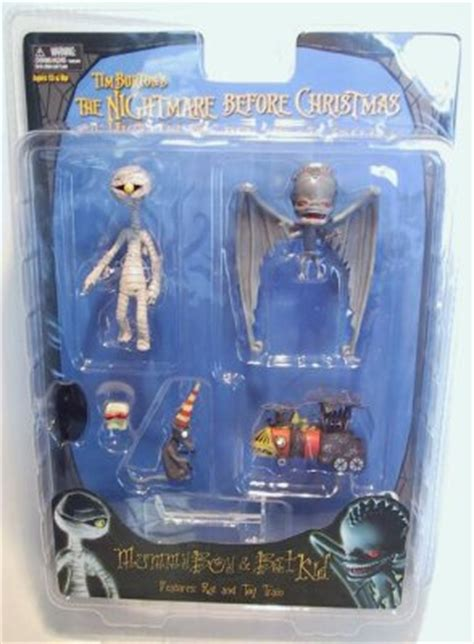 mummy boy bat kid action figure set   nightmare