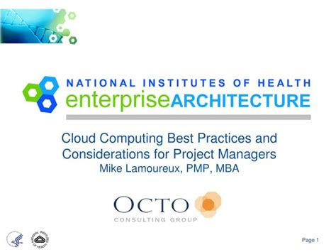 Best Mba For Project Managers by Ppt Cloud Computing Best Practices And Considerations