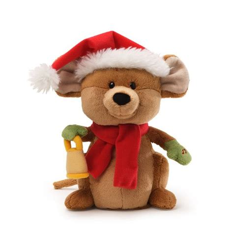 gund fun christmas merry mouse animated 8 5