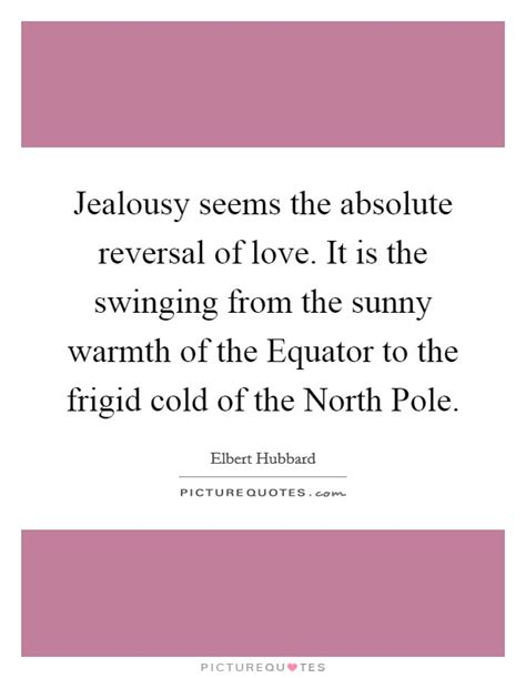 swinging and jealousy jealousy seems the absolute reversal of love it is the