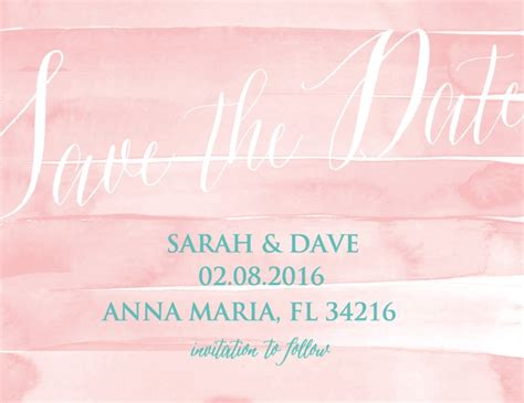 Wedding Save The Date by Save The Dates