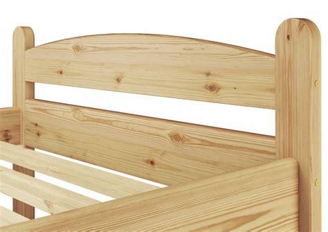 futonbett 80x200 einzelbett futonbett 80x200 massivholzbett kiefer natur