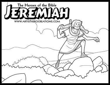 free bible coloring pages jeremiah page jeremiah biography