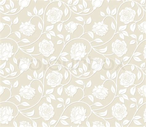 roses seamless background pattern  continuous