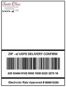 Package Address Label Template by 5 Best Images Of Label For Envelope From Santa Free
