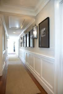 Natural Fiber Area Rug Traditional Hallway With Crown Molding By Connell Building