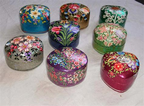 How To Make Paper Mache Boxes - buy paper mache pin box from qasim and sons srinagar