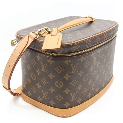 louis vuitton louis vuitton monogram nice cosmetic travel