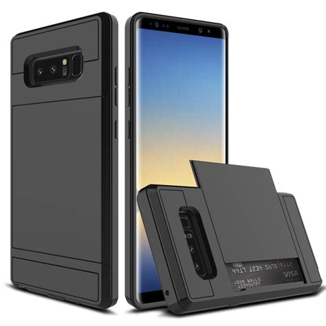 Samsung Note 4 Armor Casing Silicon 3d Cover Bumper Armor Keren for coque samsung note 8 silicon pc slide card slot shockproof for samsung galaxy