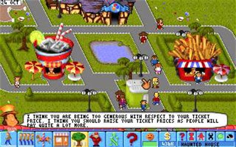 download theme park pc game theme park game download