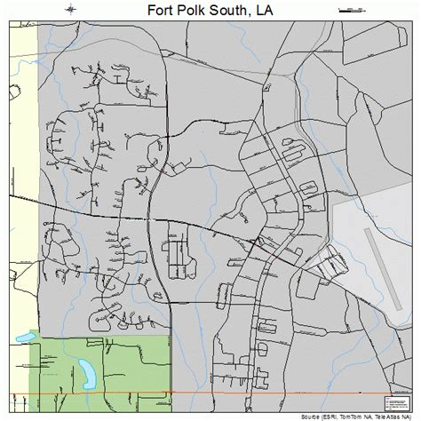 fort polk louisiana map fort polk south louisiana map 2226757