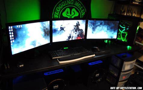 battle station bedroom setup gaming computer battlestations