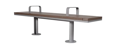 straight bench surre straight park bench wishbone site furnishings