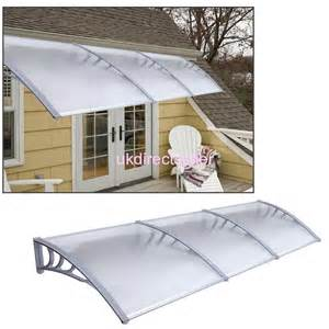 polycarbonate window awnings 1x2m house diy outdoor window awning patio cover sun