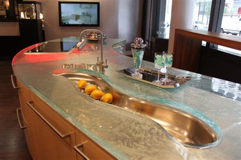 unusual countertop materials modern kitchen countertops from unusual materials 30 ideas