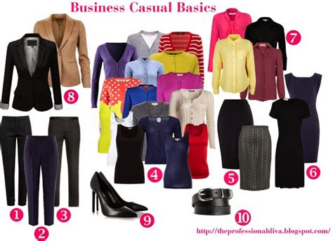 Business Casual Wardrobe by The Martini Chronicles Building A Business Casual