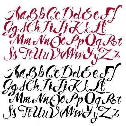 imagenes de letras geniales c 243 mo aprender a dibujar letras paso a paso todos los