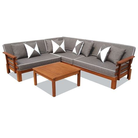 corner sofa outdoor furniture mimosa fresco corner sofa setting i n 3240550 bunnings