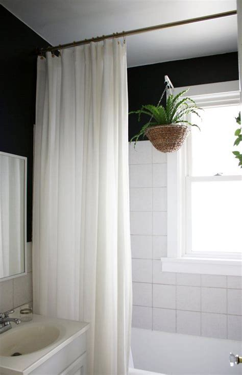 tall shower curtains best 25 black shower curtains ideas on pinterest black