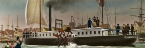 steamboat year invented when did robert fulton invent the steam boat vision launch
