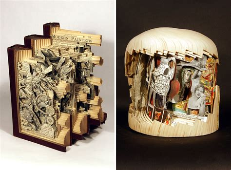libro the sculptor book surgeon uses surgical tools to make incredible book sculptures bored panda