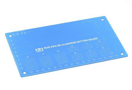 Tamiya Hg Aluminium Setting Board Gold mini 4wd hg aluminum setting board