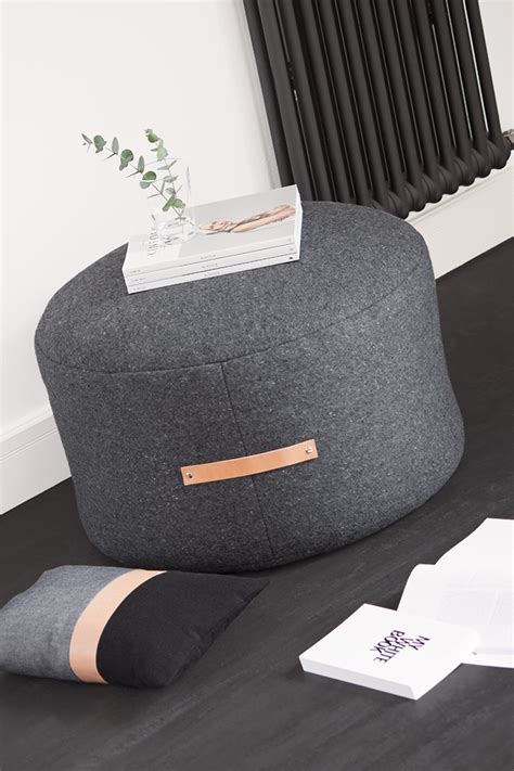 Sitzpouf Selber Machen by 29 Comfortable Diy Poufs And Ottomans Shelterness
