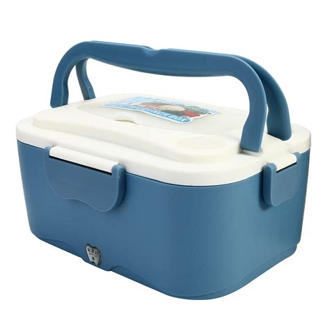 Electric Lunch Box 1 1 5l 12v 24v car electric lunch box outdoor traveling meal heater truck lunchbox alex nld