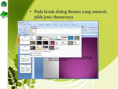 jenis layout pada office theme ppt tik bab 2