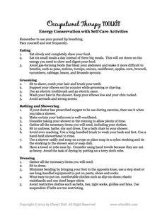 discharge soap note occupational therapy data set