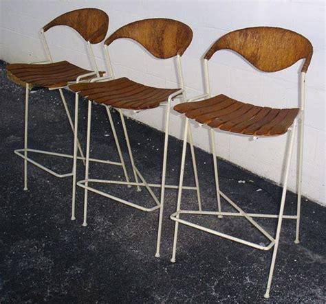 Century Furniture Bar Stools by Mid Century Modern Arthur Umanoff Bar Stools