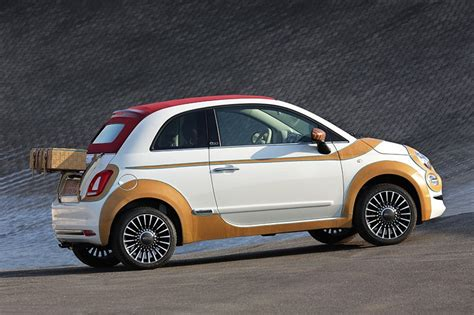 what make is fiat fiat make bespoke 500 model in hallmark italian leather