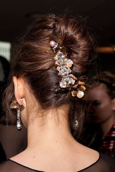 hairstyles with jeweled headband best 13 i spy diy hair accessories images on pinterest
