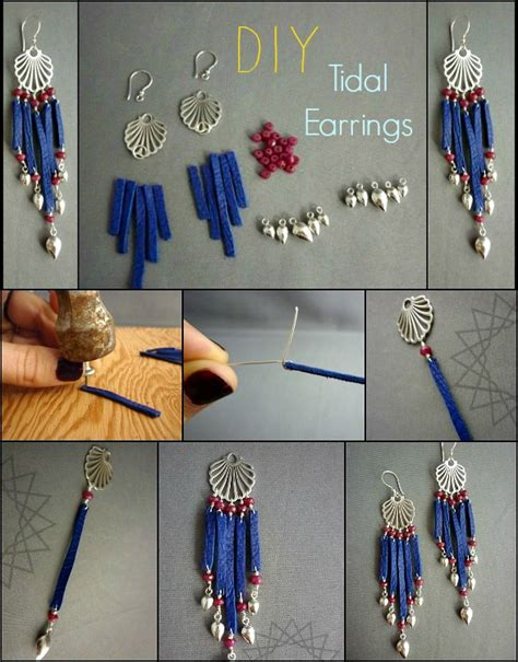 How To Make Handmade Earrings Step By Step - diy earrings tutorials